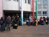 Ankunft am Collège des 4 Saisons in Onet-le-Château